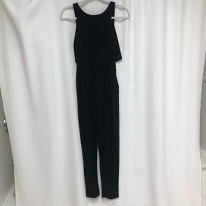 Black H&M Backless Jumpsuit